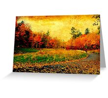 Of reds  and rusts Greeting Card