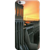 Sunset On The Dam iPhone Case iPhone Case/Skin