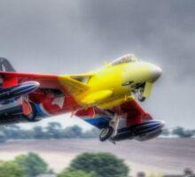 Hawker Hunter G-PSST Sticker