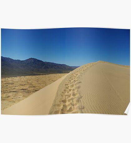 Mojave Dune, California Poster