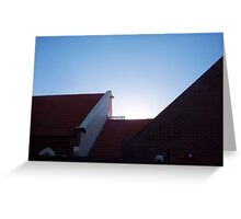 Church Roof - 23 12 12 Greeting Card