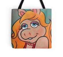 Ms Piggy Original Art Tote Bag