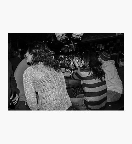 At the Bar Photographic Print