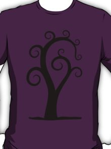 Nautilus Shell Tree T-Shirt