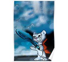 Kinder Cat Poster