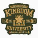 University 1-1 (Sticker) by rasabi
