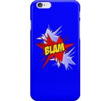 Blam! Comic Word iPhone Case/Skin
