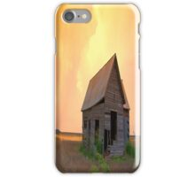 Sunset On The Land # 2 iPhone Case iPhone Case/Skin