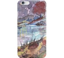 On the banks of the dam iPhone Case/Skin