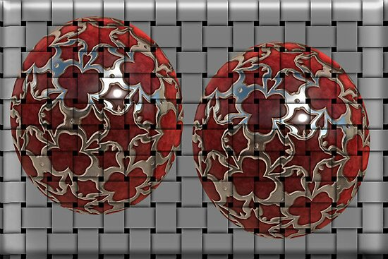 ✾◕‿◕✾ FANCY BALLS WITH WEAVE EFFECT ✾◕‿◕✾ by ╰⊰✿ℒᵒᶹᵉ Bonita✿⊱╮ Lalonde✿⊱╮