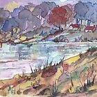 On the banks of the dam by Maree Clarkson
