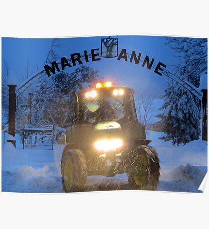 Marie Anne Poster