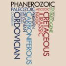 Phanerozoic aeons, eras, ages by jezkemp