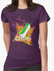 80s Phone Womens Fitted T-Shirt