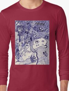At the Hedge's Edge Long Sleeve T-Shirt