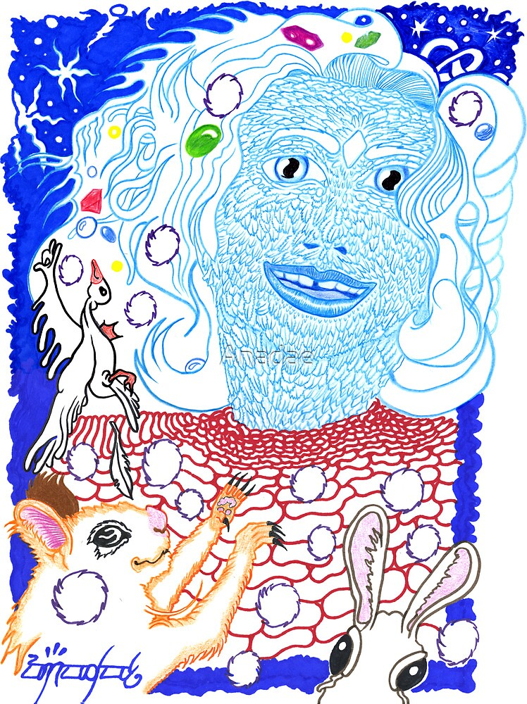 Frau Holle by Anadae