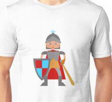 Brave medieval knight Unisex T-Shirt