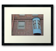 Facade - Everett, Washington Framed Print