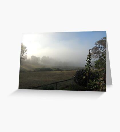 Reserve Fog Greeting Card