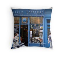 La Belle Hortense, Paris. Throw Pillow