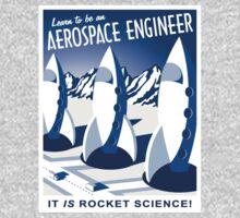 Aerospace Engineering - It is Rocket Science! One Piece - Long Sleeve