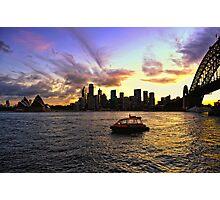 Serenity In Sydney Photographic Print