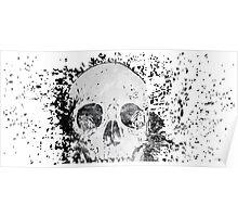 Skull Distraction Poster