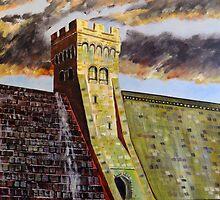 Derwent reservoir by Ivor