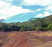 Seven coloured earth, Mauritius by JenniferLouise