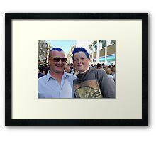 Matthew Street Music Festival Framed Print