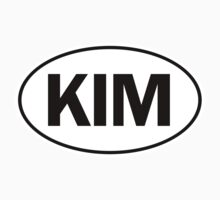 KIM - Oval Identity Sign by Ovals