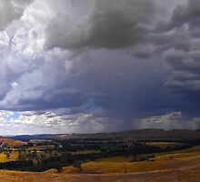 Gundagai Storm Clouds by George Petrovsky