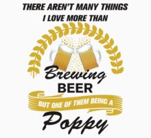 This Poppy Loves Brewing Beer by loveartt