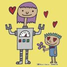 Robot Girl in Love by jarhumor