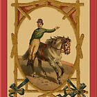 Circus Horse/Rider Greetings by Yesteryears