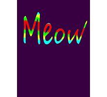 MEOW ~ Photographic Print