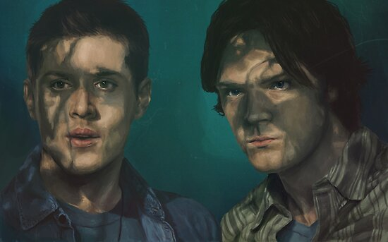Dean and Sam by mycolour