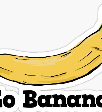 Go Banana! Sticker