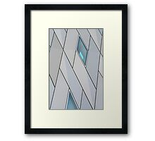 Architectural Diamonds  Framed Print