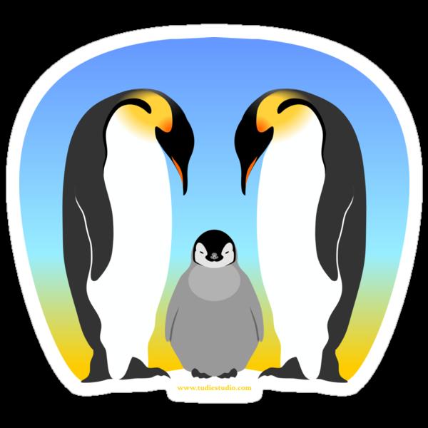 Penguins by tudi