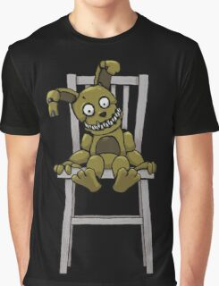 Five Nights at Freddy's - FNAF 4 - Plushtrap Graphic T-Shirt