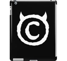 Black Ipad iPad Case/Skin