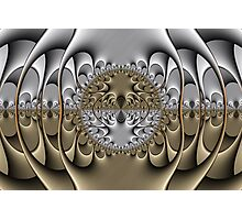 Pewter and Brass III Photographic Print
