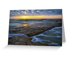 Summer Sea Pool Greeting Card