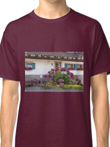 House and Flowers Classic T-Shirt
