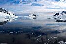 Reflecting on Antarctica 078 by Karl David Hill