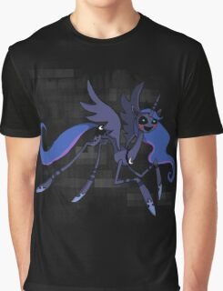 My Little Pony - FNAF - Princess Luna as the Puppet Graphic T-Shirt
