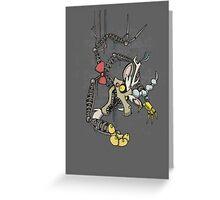 My Little Pony - MLP - FNAF - Discord Animatronic Greeting Card