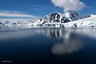 Reflecting on Antarctica 086 by Karl David Hill