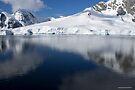 Reflecting on Antarctica 087 by Karl David Hill